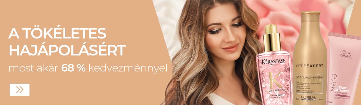 Női hajápoló kozmetikumok