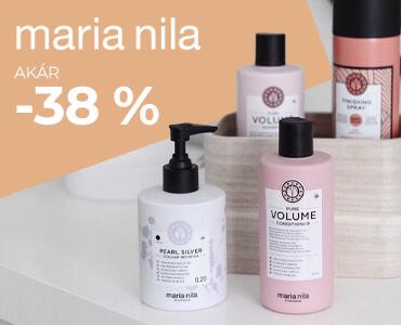 Maria Nila akár -38 %