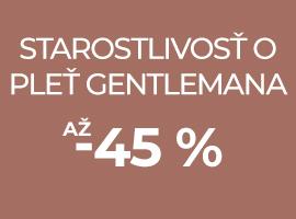 Starostlivosť o pleť gentlemana