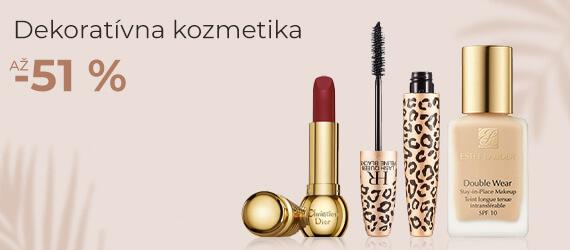 Luxusná dekoratívna kozmetika