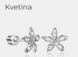 Šperky so vzorom kvetín