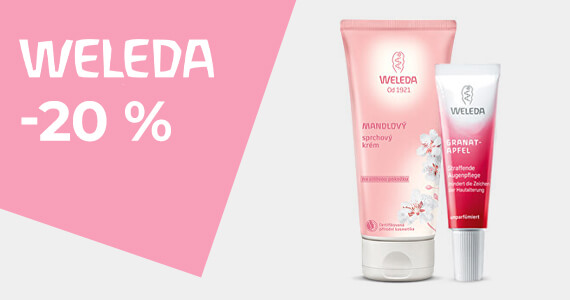 Weleda -20 %