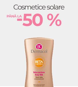 Cosmetice solare până la -50 %