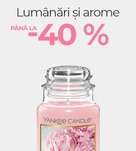 Lumânări și arome până la -40 %