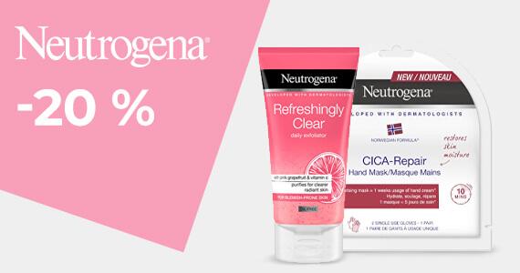 Neutrogena -15 %