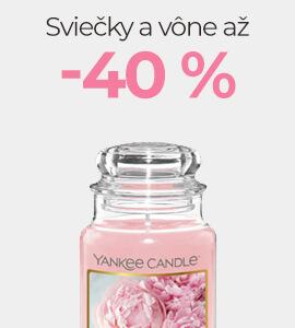 Sviečky a vône až -40 %