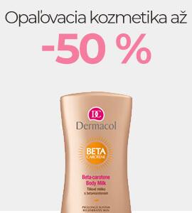Opaľovacia kozmetika až -50 %