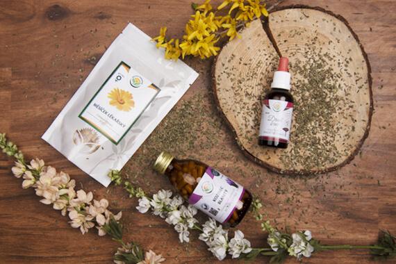 Léčivé bylinky jako dárek