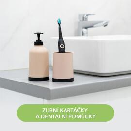 Zubní kartáčky a dentální pomůcky