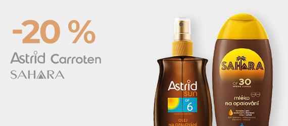 Astrid, Sahara, Carroten -20 %