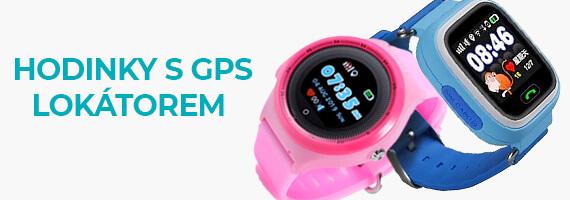 Hodinky s GPS lokátorem