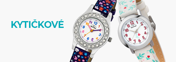 Kytičkové hodinky