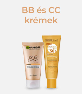 BB és CC krémek