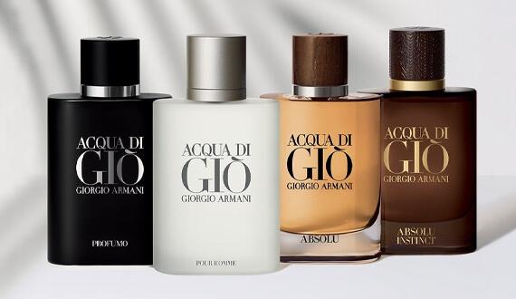 Pánské parfémy Armani