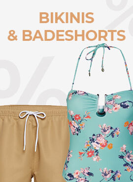 Bikinis & Badeshorts