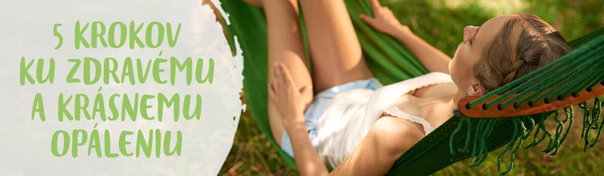5 krokov ku zdravému a krásnemu opáleniu
