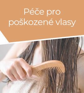 Péče pro poškozené vlasy