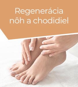 Regenerácia nôh a chodidiel