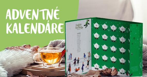 adventné čajové kalendáre