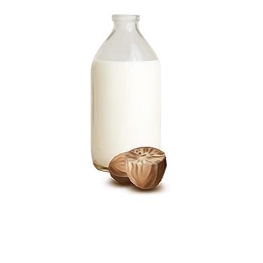 Mléko s muškátovým oříškem