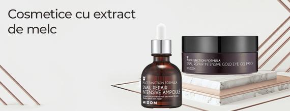 Cosmetice cu extract de melc