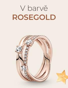 V barvě rosegold