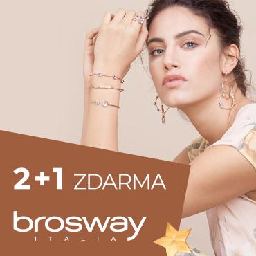 akce 2+1 Brosway