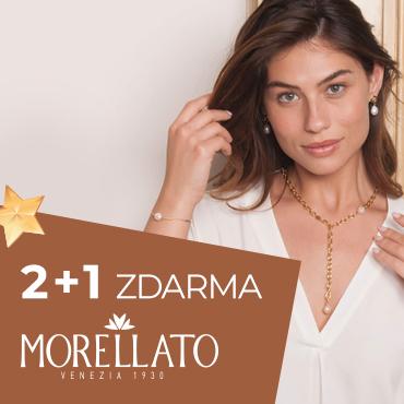 Akce 2+1 Morellato