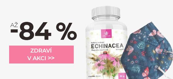 Produkty pro zdraví se slevou až -84 %
