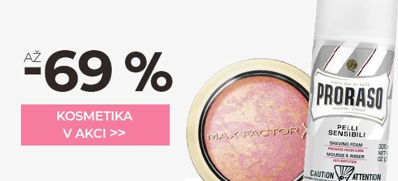 Kosmetika se slevou až -69 %