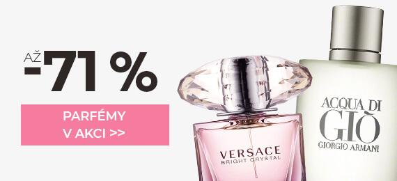 Parfémy se slevou až -71 %