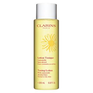 Clarins Čisticí pleťové tonikum s heřmánkem pro normální až suchou pleť (Toning Lotion Alcohol-Free