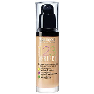 Bourjois Make-up pre perfektnú pleť SPF 10 (123 Perfect) 30 ml 54 Beige