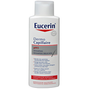 Eucerin Šampón na vlasy pre citlivú pokožku pH5 Dermocapillaire 250 ml