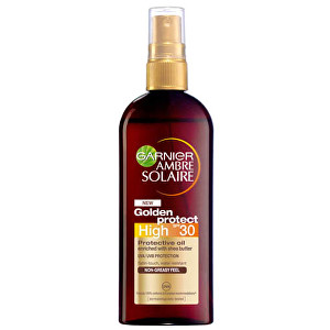 Garnier Olej na opalování High SPF 30 (Golden Protect) Ambre Solaire 150 ml