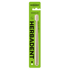 Herbadent HERBADENT ORIGINAL ECO zubná kefka stredni
