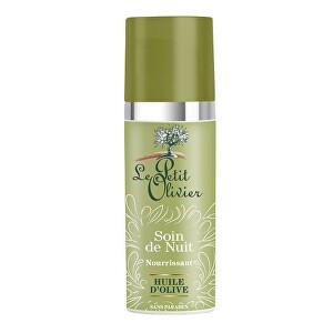 Le Petit Olivier Vyživujúci nočný pleťový krém s olivovým olejom - 50ml