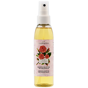 MANUFAKTURA Exkluzivní masážní & tělový olej s růží 155 ml
