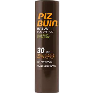 Piz Buin Balzam na pery s Aloe Vera SPF 30 (In Sun Lipstick Aloe Vera Extra Care) 4,9 g
