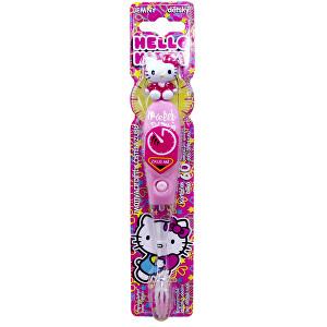 VitalCare Blikající kartáček s časovačem 1 minuty Hello Kitty Firefly