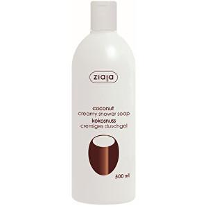 Levně Ziaja Krémové sprchové mýdlo Coconut 500 ml