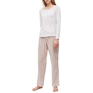 Calvin Klein Dámske pyžamo L / S Pant Set QS6350E-OPV S