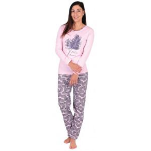 Evona Dámske pyžamo Palm a XXL