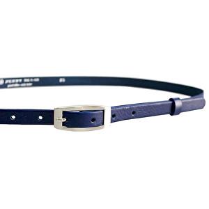 Penny Belts Dámsky kožený opasok 15-2-56 Tmavo Modrý 95 cm