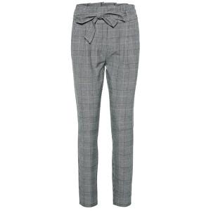 Vero Moda Dámske nohavice VMEVA 10209834 Grey / White XS/30