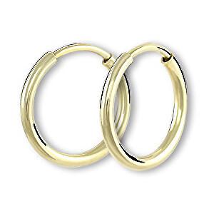 Brilio Náušnice zlaté kruhy 231 001 00487