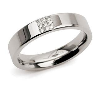 Boccia Titanium Titanový prsten s diamanty 0121-02 48 mm