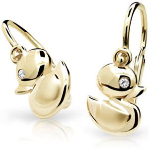 Cutie Jewellery Zlaté dětské náušnice C1954-10-10-X-1