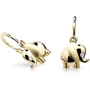 Cutie Jewellery Zlaté dětské náušnice C1955-10-10-X-1