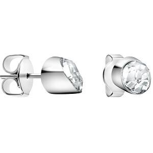 Calvin Klein Oceľové náušnice s kryštálom Brilliant KJ8YME040500